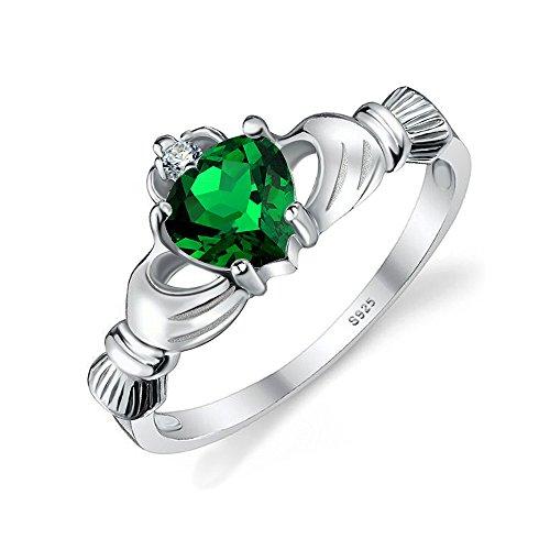 jewelrypalace-herz-05ct-irischen-keltischen-claddagh-erstellt-nano-russischen-smaragd-birthstone-pro