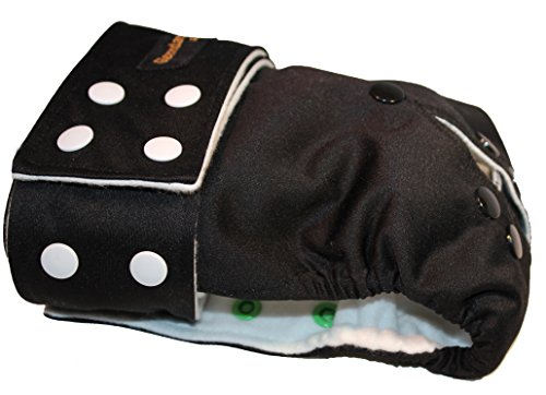 sizes-large-xxl-smarty-pants-fully-adjustable-waterproof-female-dog-nappy-washable-pads-black