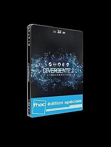 Divergente 2 : L'Insurrection Blu-Ray 3D + 2D + DVD Steelbook Edition Spéciale