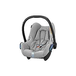 BAMBINIWELT Ersatzbezug Babyschale Maxi-Cosi CabrioFix STERNE BEIGE