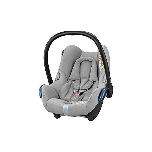 Maxi-Cosi CabrioFix Babyschale Gruppe 0+ (0-13 kg), nomad grey, grau, ohne Isofix-Station