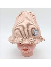 REIA Niñas bebés Sombrero de Invierno Niño Invierno Cálido Sombrero de  Punto Cabeza de Nieve Gorro de cráneo para niños de 1 a 6… 6ad0e9f87ff