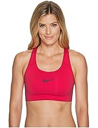 Nike Womens Pro Classic Swoosh (XS, Light Hot Red/Port Wine)