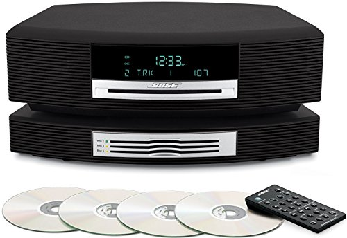 Bose Wave Music System III with Multi-CD Changer; Arbeitet Mit Alexa und Drahtloser Streaming-Adapter, 230V EU/AP Version
