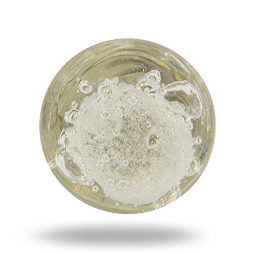 Glas Jones Bead Transparent Schrank Schrank Türknauf Schublade Pull & Griff Glas-massagegerät Rosa