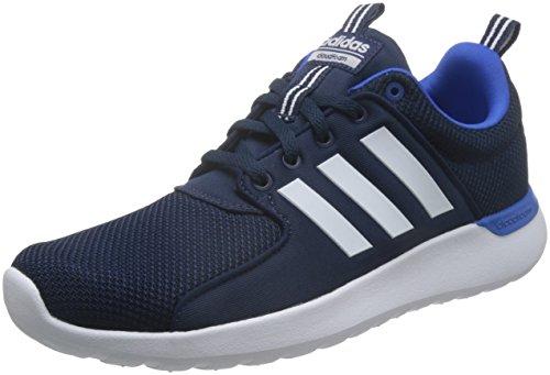 adidas Herren Cloudfoam Lite Racer Laufschuhe, Blau (Collegiate Navy/Footwear White/Blue), 43 1/3 EU