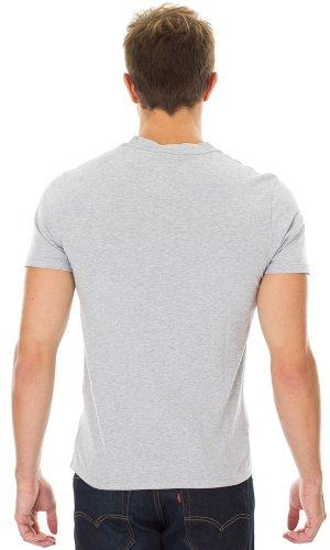 Levi's® Herren T-Shirt Standard Graphic Crew Grau (Storm Cloud 0250)
