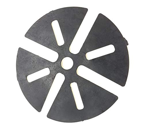 Gartenwelt Riegelsberger Basic Tapis de Protection antidérapant pour Plateau de pédalier 1 mm x 120 mm