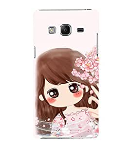 EPICCASE Dream Gril Mobile Back Case Cover For Samsung Tizen Z3 (Designer Case)