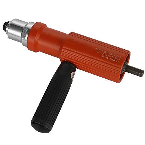 KKmoon Nietbohrer Adapter,Elektrische Nietmutter Maschine Nietwerkzeug Nieteinsatz Nut Tools Geeignet für 3.2-4.8mm Nieten-Schnittstelle