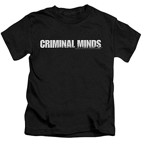 Criminal Minds TV Show CBS Logo Little Boys T-Shirt Tee