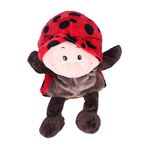 Baby Handpuppen für Kinder 8x Tierpuppen Handspielpuppen Affenpuppe Zoo Set Kleinkind