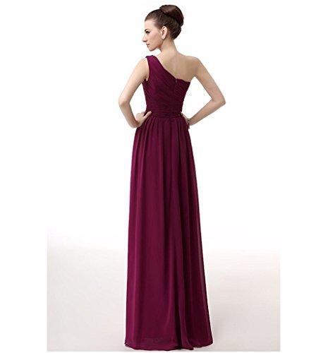 Vimans - Robe - Trapèze - Femme Rouge - Rouge