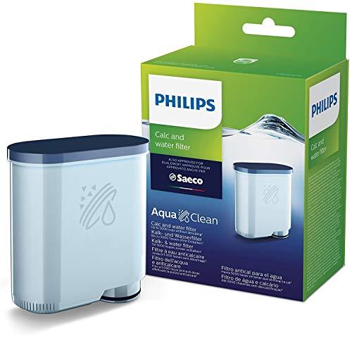 Philips CA6903/10 Filtro de Agua Aquaclean para Máquinas de Café Espresso Automáticas, Verde, 6x9.5x14.5...