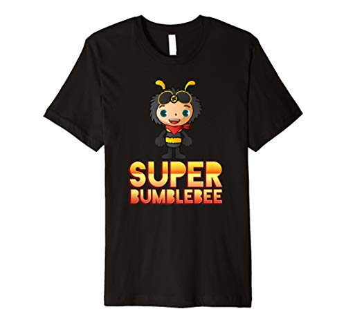Super Bumblebee Maskottchen. Bee Lover T-Shirt