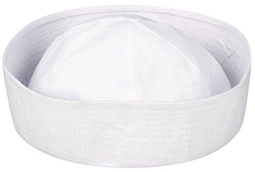 Islander Fashions M�nner Sailor Fabric Doughboy Stil Phantasie Kopfbedeckung Hut Boy Sea Party Dress Einheitsgr��e (Fits EU 36-42)