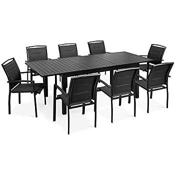 Ensemble Salon Aluminium à Jardin Extensible En De Table 8PNn0OkXwZ