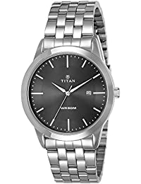 Titan Analog Black Dial Men's Watch -NK1584SM04