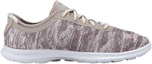 Skechers GO STEP, Sneakers Basses femme Gris - Grau (TPE)