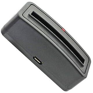 AccuCell Neu Ladegerät für Samsung Galaxy S4 Mini, BA500AE, B500BE, EB-445163VU, i9190 zum laden außerhalb des Geräts