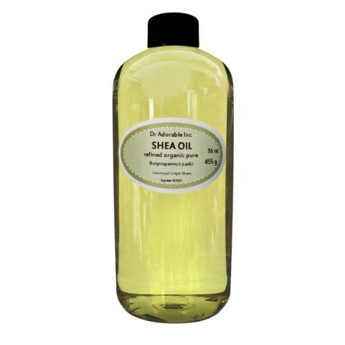 Shea Karite Oil Refined Pure Organic 16 Oz / 1 Pint