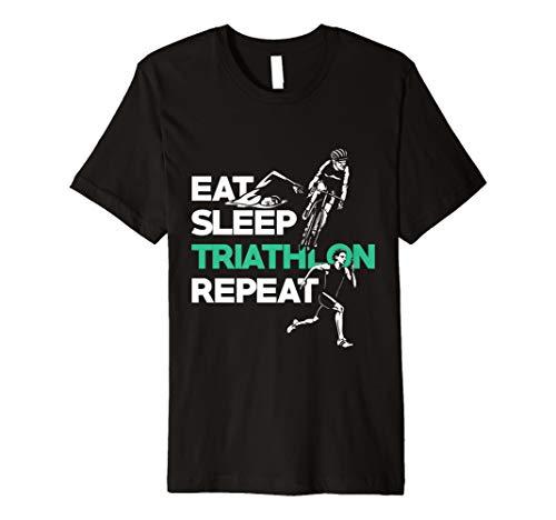(Triathlon T-Shirt - Schwimmen Fahrrad fahren Laufen)