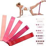 368° Inspiration Fitnessband 5pcs Training Fitness Fitnessstudio Stärke Widerstandsbänder Pilates...