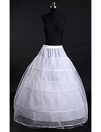 Eyekepper nouvelle jupon longue blanche pour sous la robe de mariee