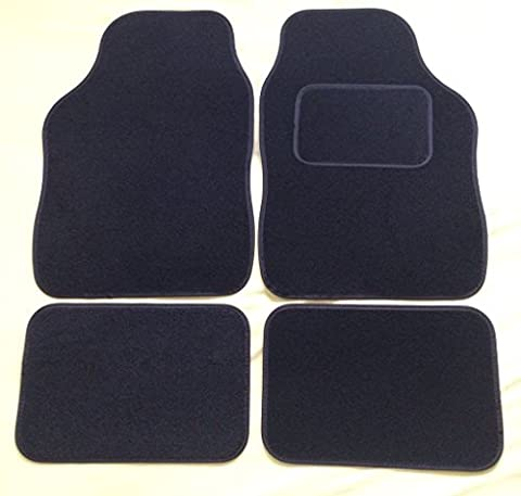 VOLKSWAGEN VW BEETLE (1999-2005) Universal Car Carpet Floor Mats Black