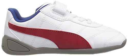 Puma Tune Cat 3 V Synthetik Turnschuhe Puma White-Barbados Cherry