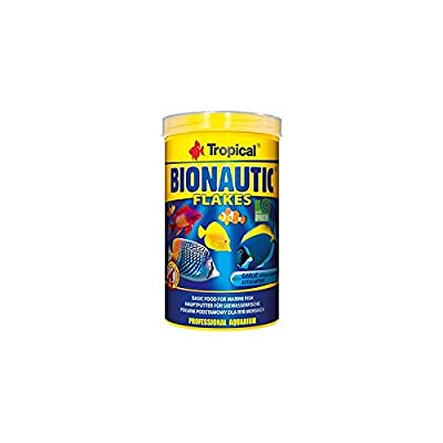 BIONAUTIC MARINE FLAKES - Premium Multi-ingredient flake food for everyday feeding of Marine fish.