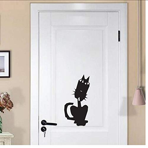 Beängstigend Dekor - Katze beängstigend Zeichnung Dekor Kinder Wohnzimmer