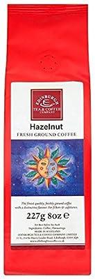 Edinburgh Tea and Coffee Company Hazelnut Ground Coffee 227 g (Pack of 3)