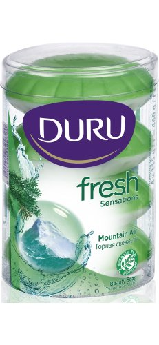 Duru Fresh Seife Festseife Handseife Mountain Air 4x115gr