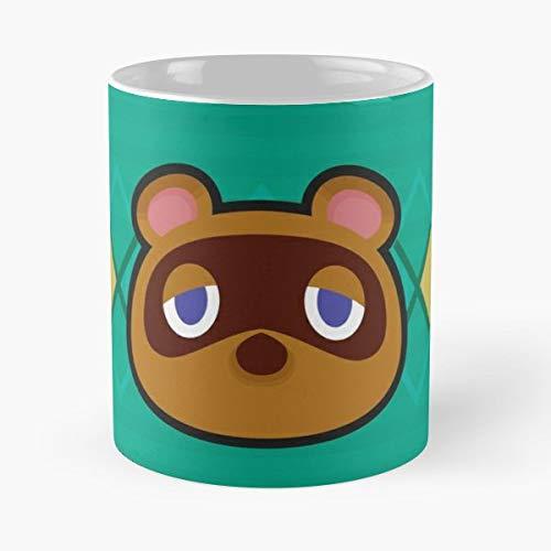 Tom Nook Racoon Tanuki Animal Crossing New Leaf Acnl Happy Home Designer Best 11 oz Kaffee-Becher - Tasse Kaffee Motive