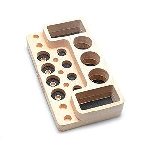 VPDAM Dampfständer Holz Tisch Ständer, Holder, Box für Verdampfer, Atomizer, Akkuträger, Drip Tip von DIY-24H