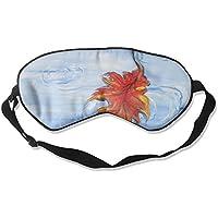 Eye Mask Eyeshade Leaves Water Painting Sleeping Mask Blindfold Eyepatch Adjustable Head Strap preisvergleich bei billige-tabletten.eu