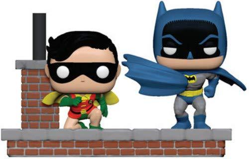 Funko- Pop Vinyl: Comic Moment 80th: Look Batman and Robin (1964) Figura de Vinilo, (37256)