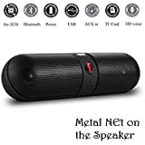 Happytech Panasonic P71 Compatible MINI Bluetooth Multimedia Speaker System With FM / Pen Drive / Micro-SD Card Slot Apple IPad Wi-Fi And All Other Smartphones - Portable Pill F Bluetooth Speaker-Color May Be Vary18 L