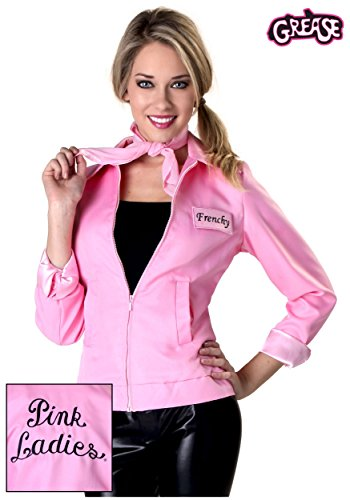 Authentic Grease Plus Size Pink Ladies Jacket 2X
