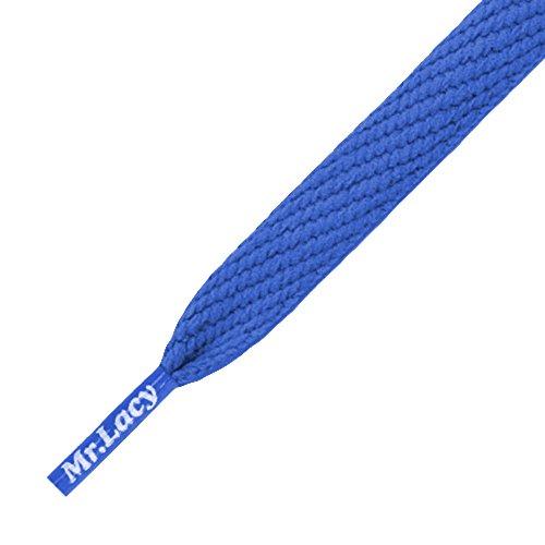 Mr Lacy Smallies lacets bleu Royal