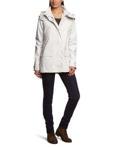 Ilse Jacobsen Rain24 - Manteau imperméable - À capuche - Manches longues - Femme Blanc (10))