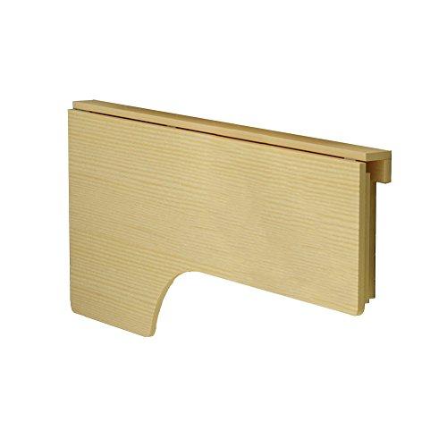 Tische Kindermöbel Kinder Schreibtisch (LXLA- Klappwand Schreibtisch Wand-Drop-Blatt Tisch Küche Esstisch Holz Computer Workstation Kinder Study Organizer Kiefer Holz (größe : 140×60cm))