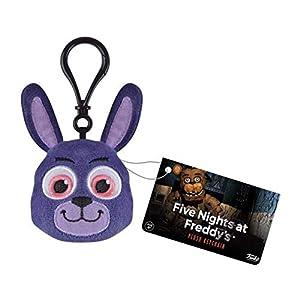 Funko Keychain Five Nights at Freddys Llavero con Anilla de Poliester Bonnie, Multicolor (0849803091491)