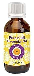 Pure Basil Essential Oil - Ocimum Basilicum 30ml