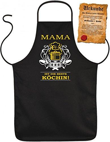 Tablier schurz-mama ist die Beste cuisinière, blouses-chope humoristique Super regalo