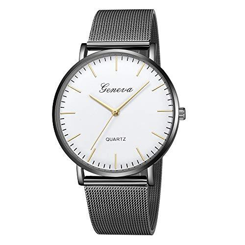 koperras Mens Classic Quartz Stainless Steel Wrist Watch Bracelet Watches for Men