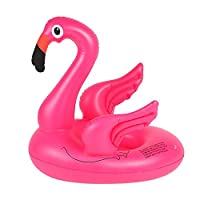 Xiangpian183 Inflatable Pool Float With Flamingo Shape | Swim Safe Seat Inflatable Float Toy Swimming Pool Float Seat Floating Bed For Kids And Adults, 65x45cm