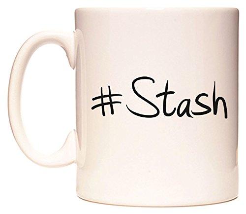 #Stash Becher von WeDoMugs