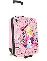 Valise cabine rigide Madisson Kids Girly Music 48 cm Rose 4HXsBkv9